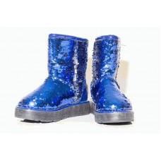 Угги CLASSIC BLUE SPARKLES (Н466)