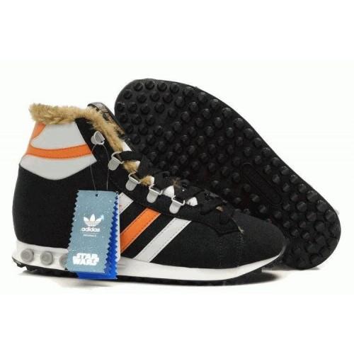 Кроссовки Adidas Jogging Hi S.W. Star Wars Chewbacca (О-711)