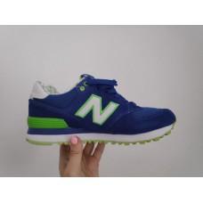 Кроссовки New Balance wl574ydb синие