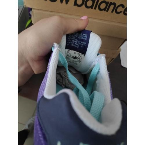 Кроссовки New Balance 574 Баклажановые
