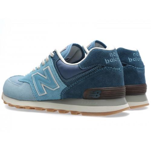 Кроссовки NEW BALANCE 574 Сине-голубые
