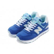 Кроссовки NEW BALANCE 574 Синие с белым